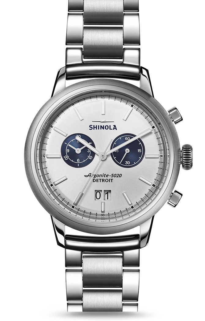 Shinola bedrock chrono watch