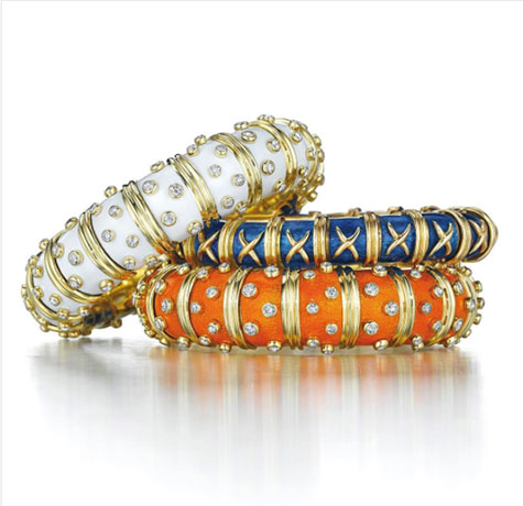 Schlumberger for Tiffany bangles