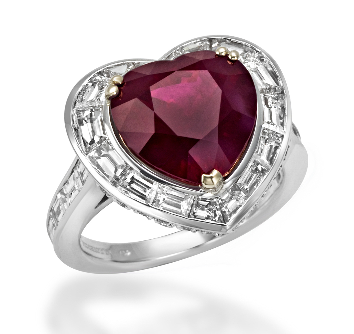Picchiotti ruby heart ring | JCK On Your Market