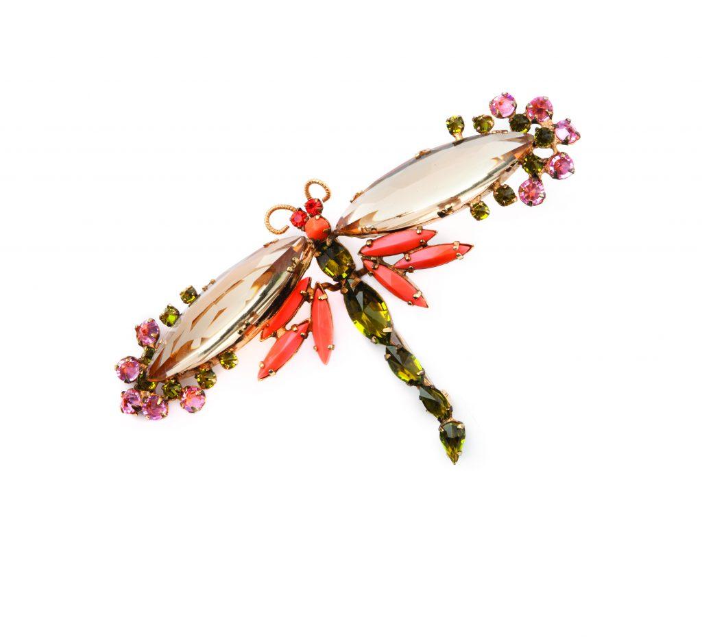 Schreiner-Dragonfly-Brooch-Costume-Jewelry