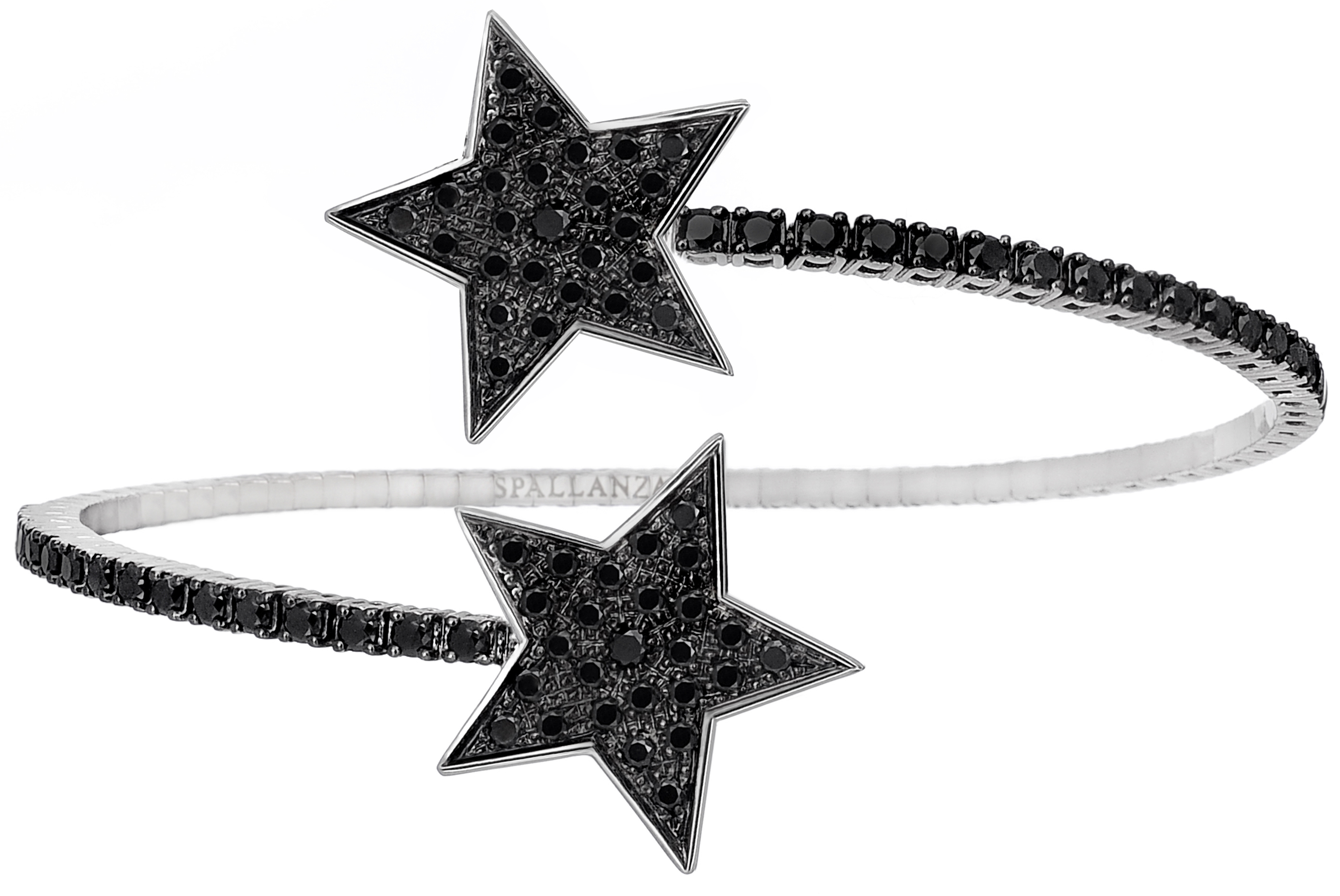 Spallanzani Stella black diamond bracelet | JCK On Your Market