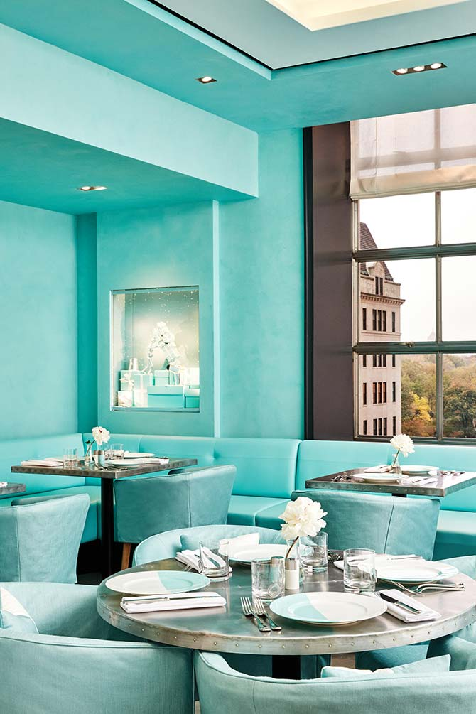 Tiffany and Co Blue Box Cafe