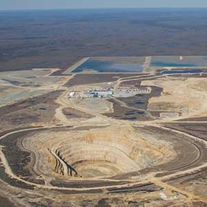 Victor Canadian diamond mine