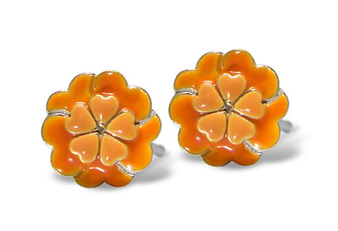 Alex Woo Coco mini marigold earrings | JCK On Your Market