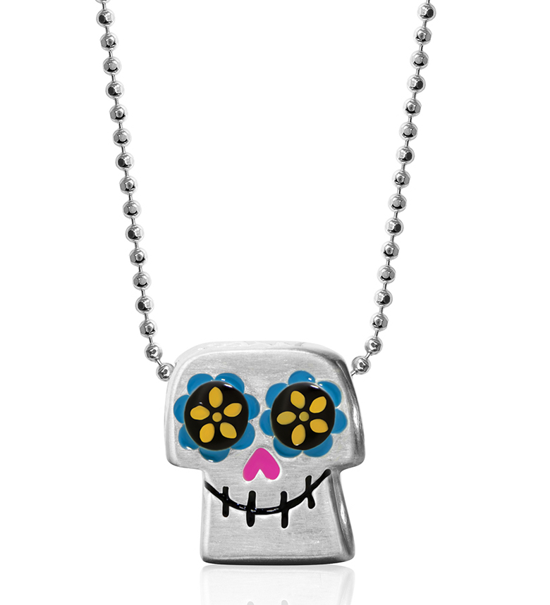 Alex Woo Little Icon Coco sugar skull pendant | JCK On Your Market