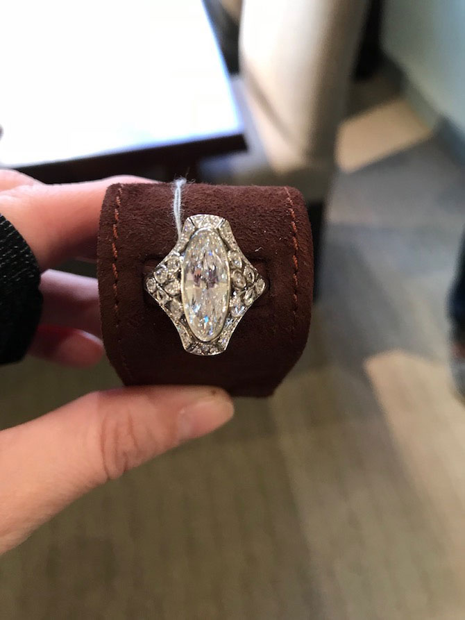 13 McTeigue McClelland Moval Engagement Ring