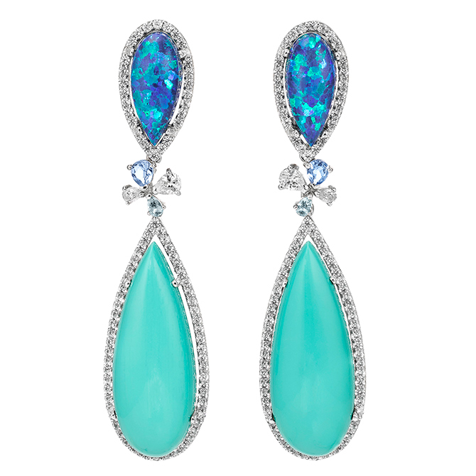 AnabelaChan Turquoise Papillon Earrings 01 copy