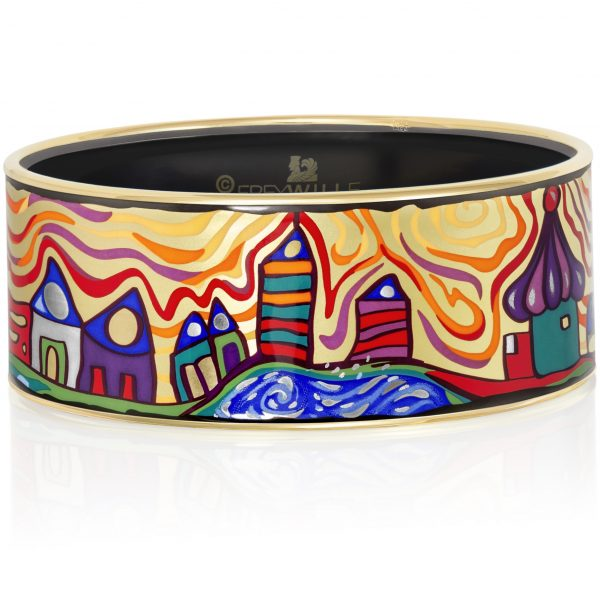 Freywille Donna enamel bangle