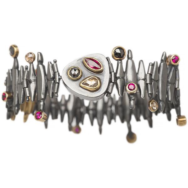 Alison Antelman ruby Metro bracelet