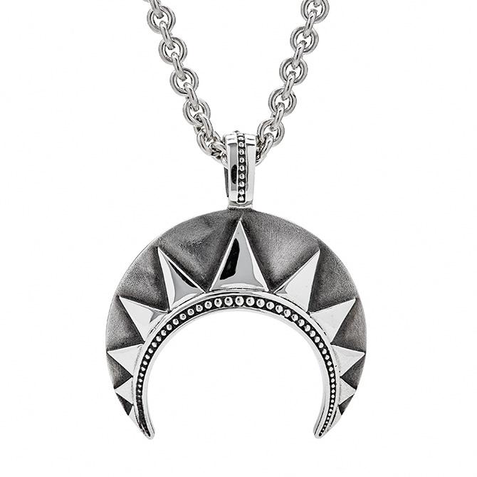 Chasseur silver Pendant Crescent