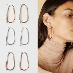Diet Prada Celine knockoff earrings