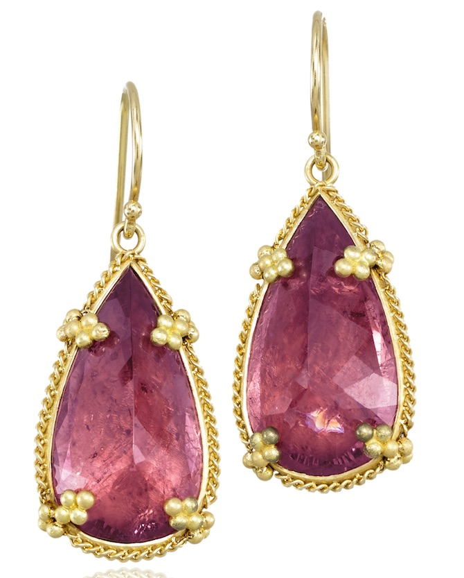 Amali pink tourmaline earrings | JCK On Your Market