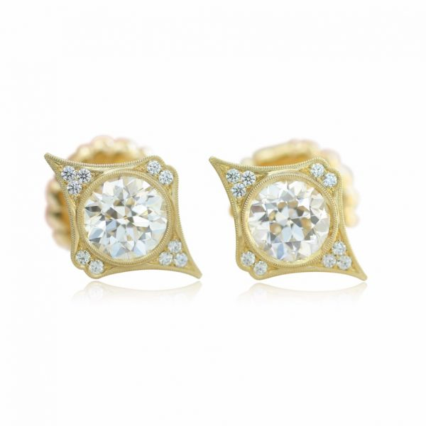 Erika Winters diamond Estella earrings