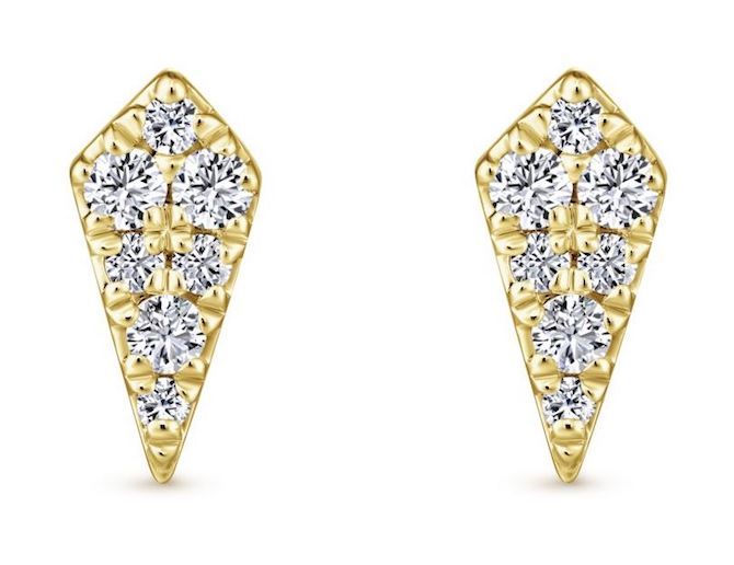 Gabriel and Co diamond kite earrings