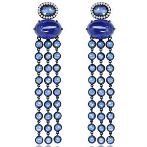 Sutra sapphire earrings | JCK On Your Market