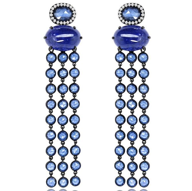 Sutra sapphire earrings | JCK On Your Market
