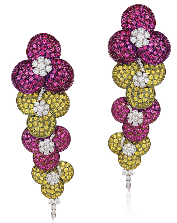 Andreoli cascading flower earrings | JCK On Your Market