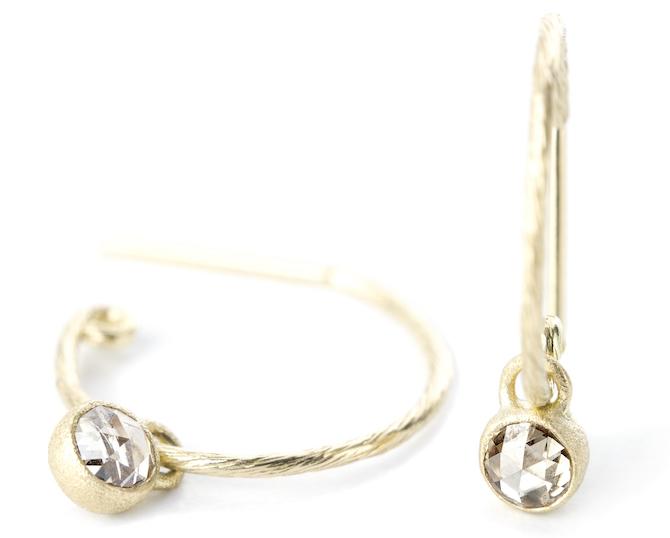 Nina Nguyen Adorn hoop earrings | JCK On Your Market