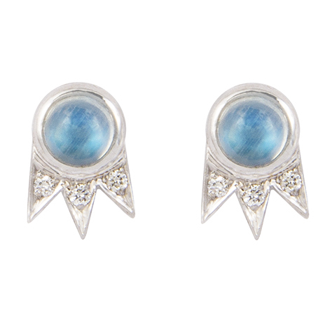 M. Spalten Starburst opal earrings | JCK On Your Market