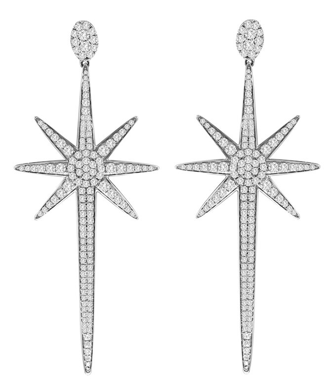 Dvani diamond starburst earrings | JCK On Your Market