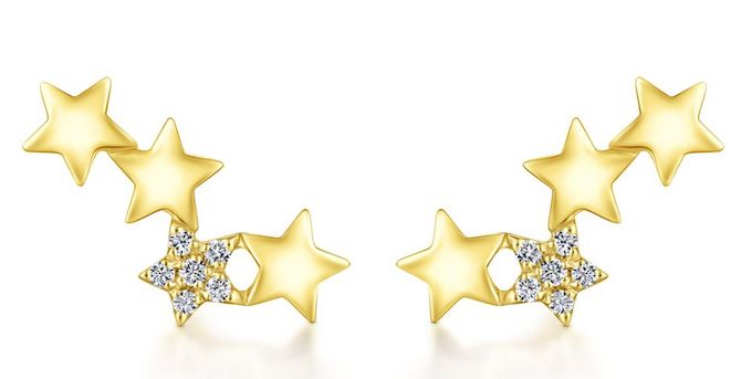 Gabriel and Co star earrings | JCK On Your Market