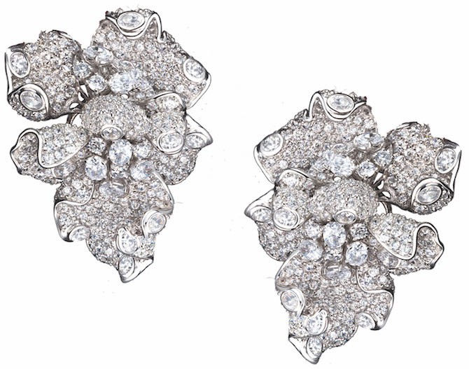 Anabela Chan diamond Bloomingdale earrings | JCK On Your Market