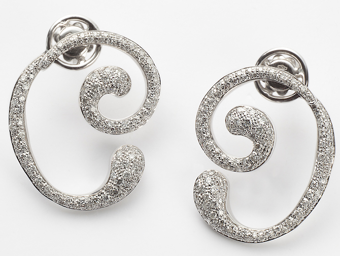 Orme A Slight Pause diamond earrings | JCK On Your Market