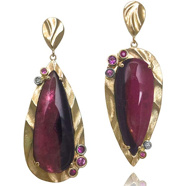 K Mita Pink Mystique earrings