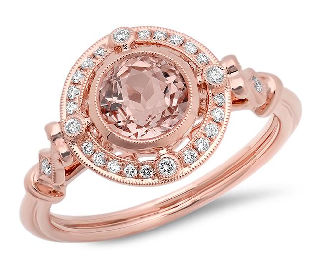 Beverley K morganite engagement ring | JCK On Your Market