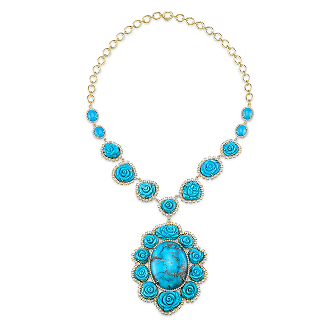 Irene Neuwirth turquoise necklace copy