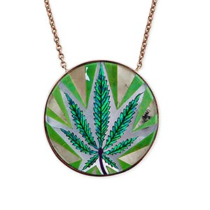 Jacquie Aiche Opal Inlay Pendant