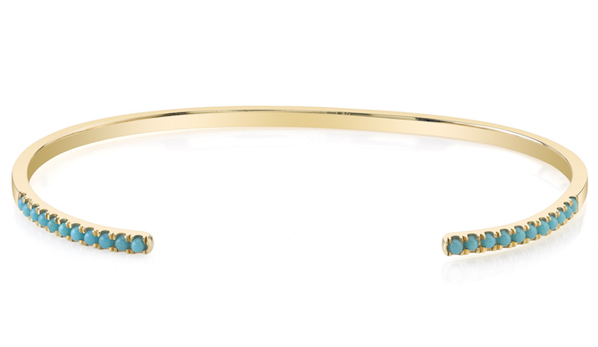 Smith and Mara open turquoise cuff bracelet | JCK On Your Market
