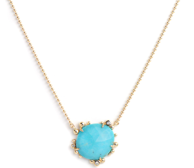 Anzie Jewelry Dew Drop turquoise pendant | JCK On Your Market