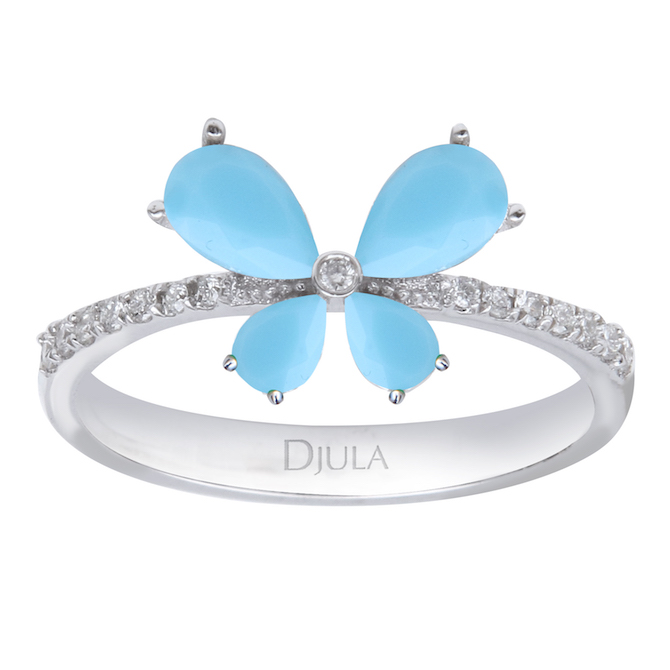 Djula turquoise butterfly ring | JCK On Your Market