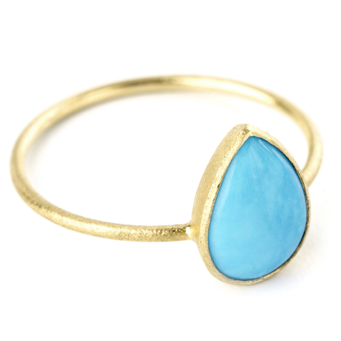 Nina Nguyen Adorn turquoise ring | JCK On Your Market