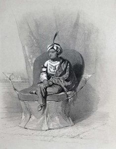 Young Maharaja of Punjab Duleep Singh in 1847