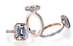 Mark Patterson rose gold engagement rings