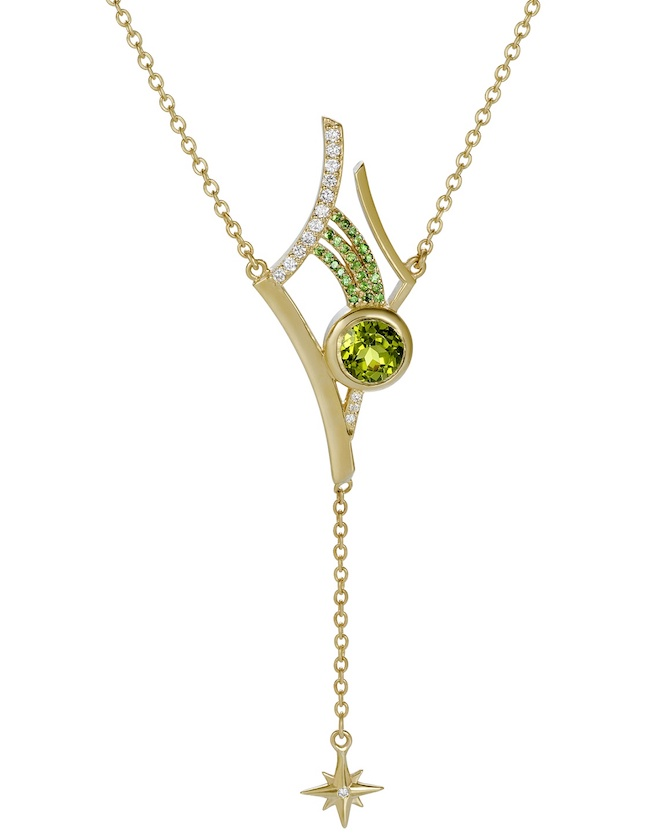 Martha Seely Antares peridot necklace