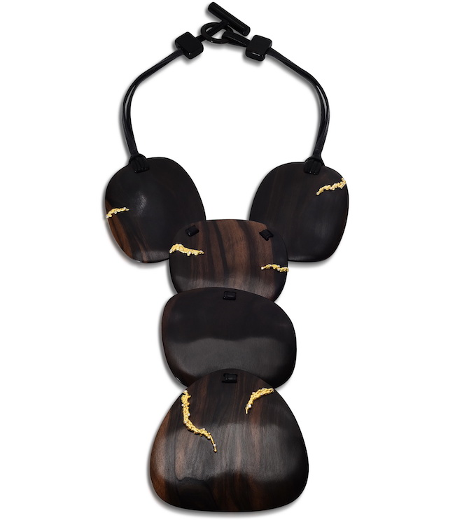 Fern Freeman ebony necklace