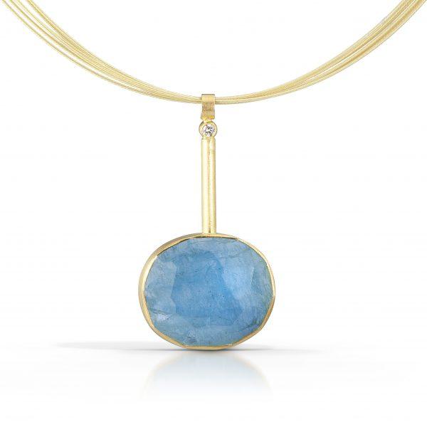 Thea Izzi aquamarine pendant