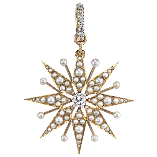 Anabel Higgins Celeste pendant | JCK On Your Market