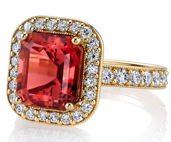 Erica Courtney Sophia tourmaline ring | JCK On Your Market