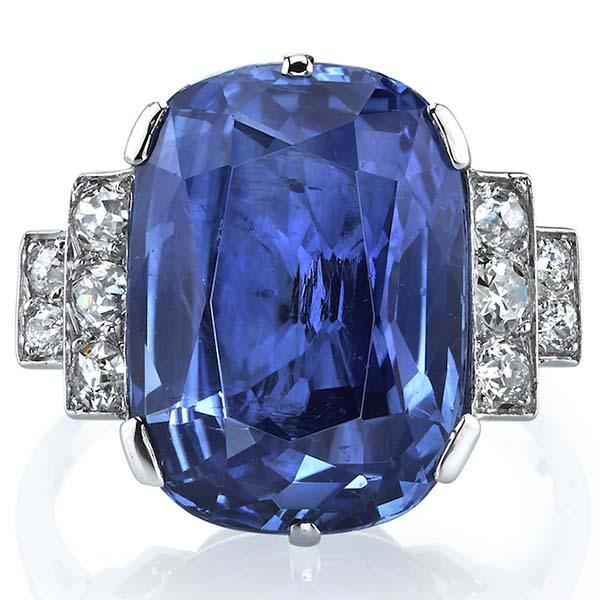 Joshua J sapphire ring
