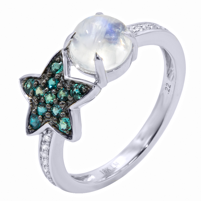 Mark Henry alexandrite star ring | JCK On Your Market
