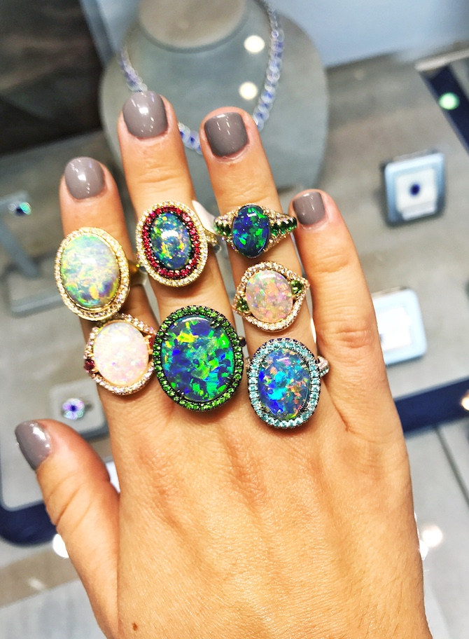 Omi Prive opal rings | JCK On Your Market