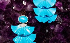 Silvia Furmanovich Turquoise Earrings