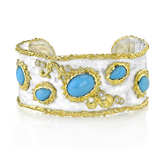 Glamorous Turquoise Jewelry for a Blue Christmas NY JCK Online