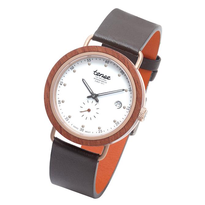 Tense Watch Hudson rose wood watch | JCK On Your Market