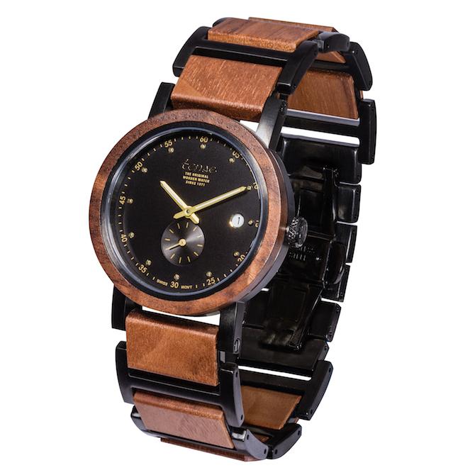 Tense Watch Hudson walnut watch | JCK On Your Market