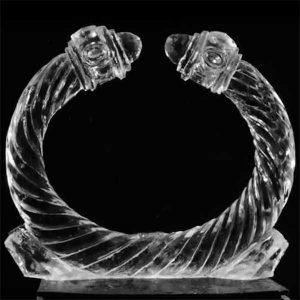 David Yurman cable bracelet ice sculpture